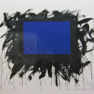 Untitled - Blue Rectangle