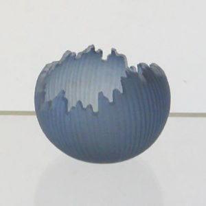 Small Steel Blue Orb