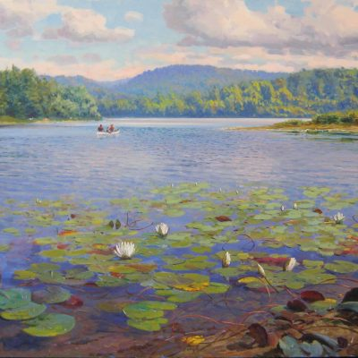 VADIM_DOLGOV_Northern_Lake_and_Lily_Pads_4355_427