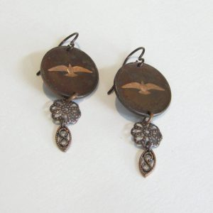 1967 Penny Earrings
