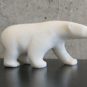 Stepping Polar Bear