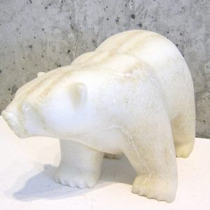 Striped Polar Bear