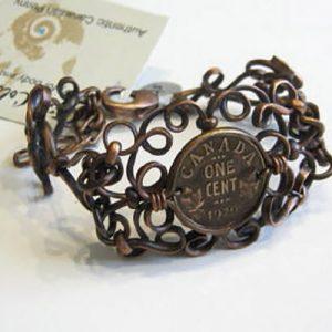 1929 Coin Bracelet