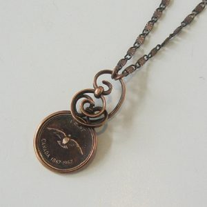 1967 Wrapped Penny Copper Necklace