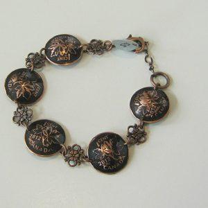 2012 Black Penny Bracelet