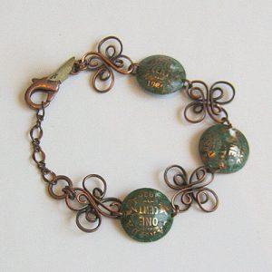 1929 Domed Penny Bracelet