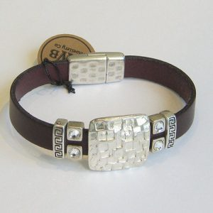 Square Crystal Single Cuff