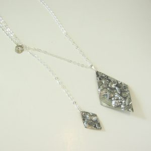 Vintage Silver Double Necklace