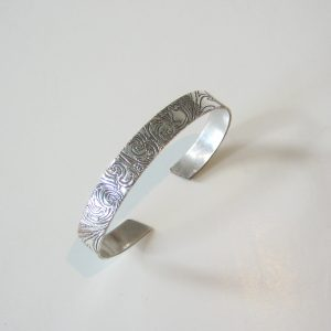 Vintage Silver Narrow Cuff