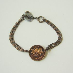1973 Penny Chain Bracelet