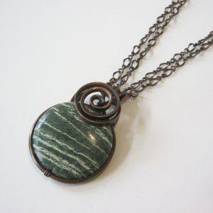 Forest Jasper Chain Necklace