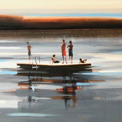 Silver Lake 40 x 60