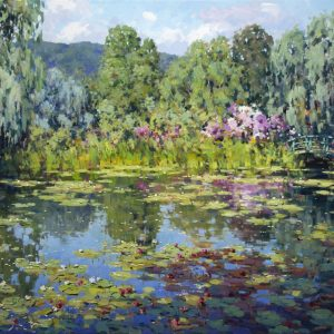 Monet Reflection