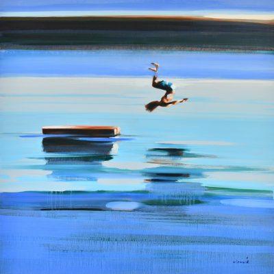 Water Sports 40 x 40