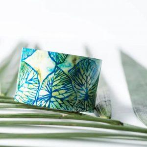 A Midsummer's Night Aluminum Cuff
