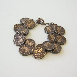 1941 Double Penny Bracelet