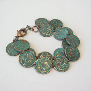 1951 Double Penny Bracelet