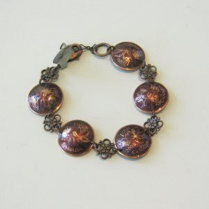 2008 Domed Penny Bracelet