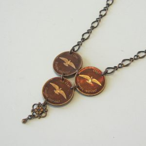 1967  3 Penny Necklace