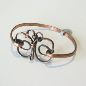 Butterfly Copper Cuff
