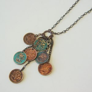 Multipenny Necklace