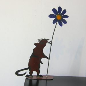 Mouse and Flower 1