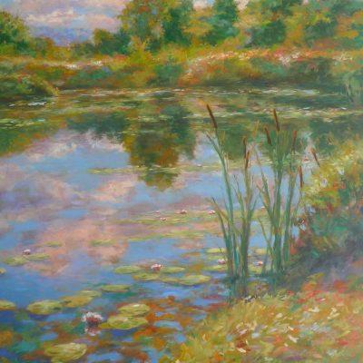 pond's edge 60x48