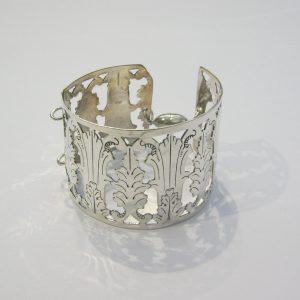 Vintage Silver Open Bracelet