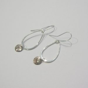Vintage Silver Ring Earrings 2