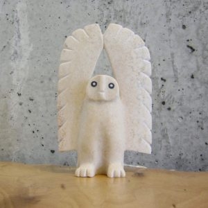Dancing Snowy Owl