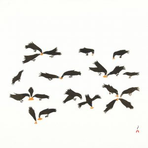 2019 Twelve Feeding Ravens