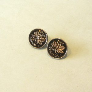 1946 Copper Penny Earrings