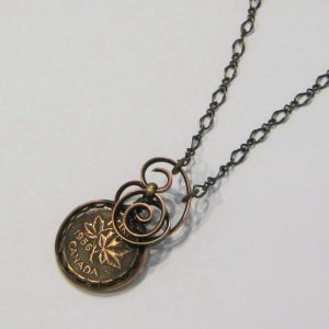 1956 Copper Penny Necklace