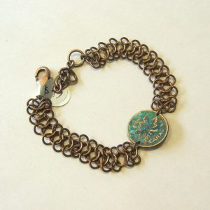 2012 Penny Chainmail Bracelet