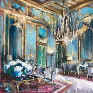1 - Great Hall With Hydrangeas II
