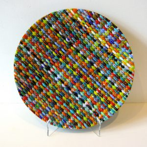 Circle Weave Plate