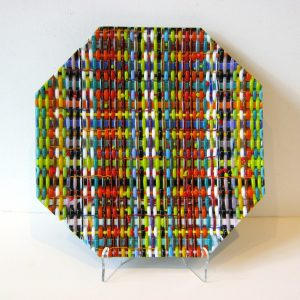 Octagon Weave Plate